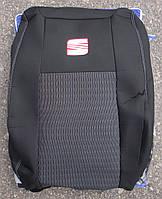 Авточехлы Seat Leon с 2005–12 автомобильные модельные чехлы на для сиденья сидений салона SEAT Сеат Leon