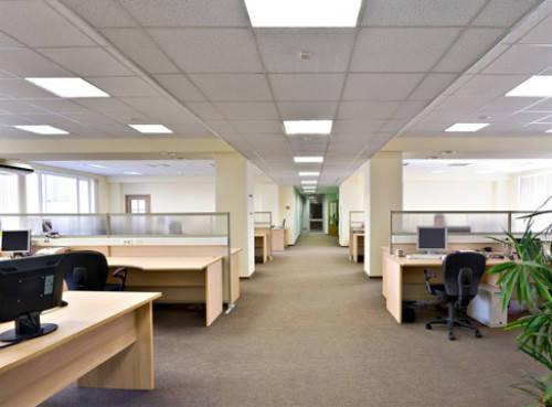 Современное офисное освещение
