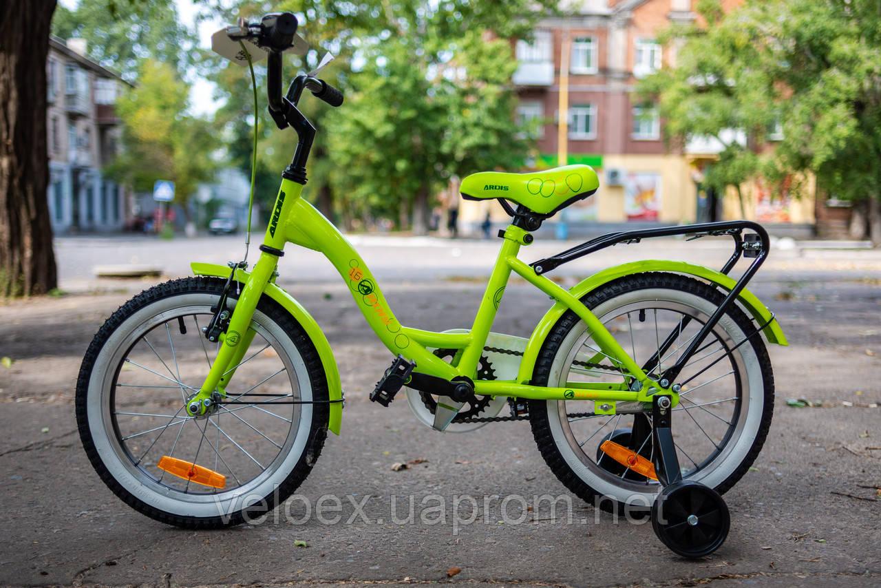 Велосипед Ardis Lime BMX 16 дюймов детский