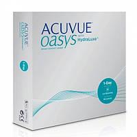 Контактные линзы Johnson & Johnson Acuvue Oasys with HydraLuxe (+5.00) (90 шт.)