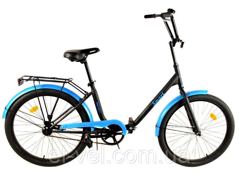 Городской дорожный велосипед АИСТ Smart 24.1.1