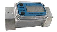 WL-1 1/2″ - 30-200 л/м. Турбинный расходомер жидкостей