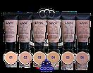Тональный крем NYX Stay Matte But Not Flat Liquid Foundation, фото 2
