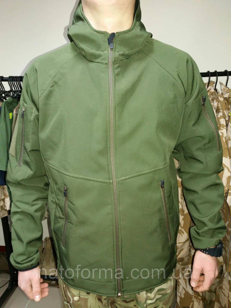 Куртка тактическая, Soft Shell, олива