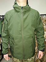 Куртка тактическая, Soft Shell, олива, фото 1