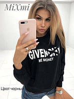 Свитшот Givenchy черный р.42-46