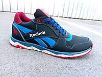 Кроссовки мужские кожаные Reebok реплика 40-45 р-р, фото 1
