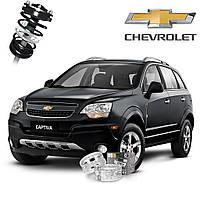 Автобаферы ТТС для Chevrolet Captiva (2 штуки), фото 1