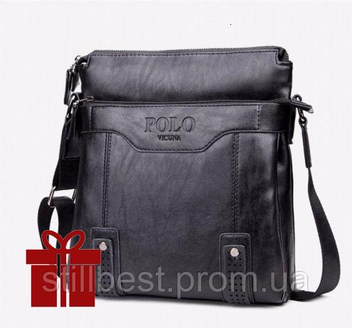 8b59038fd4ed Кожаная мужская сумка Polo Videng Vintage в двух цветах !: продажа ...