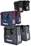 Велосипедная двухсекционная  сумка-штаны 35л в 3 цветах из водостойкого, прочного Oxforda от RLB Харьков
