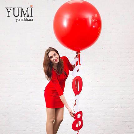 Воздушный шар-гигант с новогодней гирляндой , фото 2