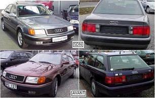 Кузовные запчасти для Audi 100 1991-94