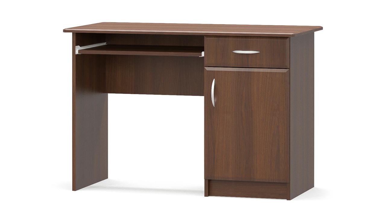 Стол письменный 1-тумбовый МДФ Мебель-сервис