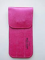 Чохол на 3 пінцета Black Queen з магнітною кнопкою, Pink, фото 1