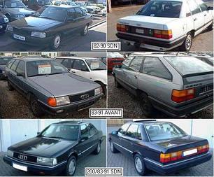 Кузовные запчасти для Audi 100/200 1982-91