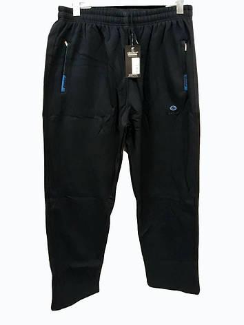 Брюки теплые Shooter батал зимние мужские спортивные штаны Шутер большого размера Черный, фото 2