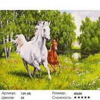 Картина по номерам Белоснежка «На воле»139-AB