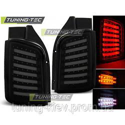 Задние фонари VW T5 04.03-09 / 10-15 SMOKE BLACK LED TRANSPORTER