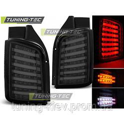 Задние фонари VW T5 04.03-09 / 10-15 SMOKE LED