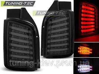 Задние фонари VW T5 04.03-09 / 10-15 SMOKE LED TRANSPORTER