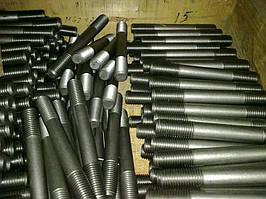 На нашем предприятии разрабатываются фланцевые стальные шпильки стандартизированных (2-56 мм) и нетипичных диаметров. Производственная технология подразумевает использование стали разных марок (в основном жаропрочная, коррозионностойкая сталь).