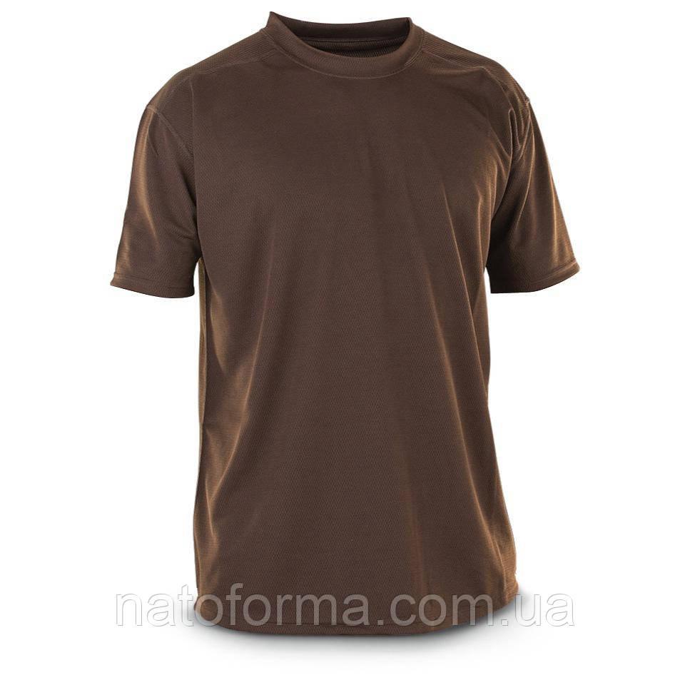 Термофутболки Coolmax, армии Великобритании, оригинал, коричневая