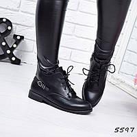 Ботинки женские Rimm черные 5597 ботинки осень , фото 1