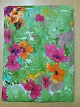 Покривало стьобане з наволочками 210х240 Квіти в саду, фото 2