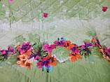 Покривало стьобане з наволочками 210х240 Квіти в саду, фото 3