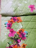 Покривало стьобане з наволочками 210х240 Квіти в саду, фото 4
