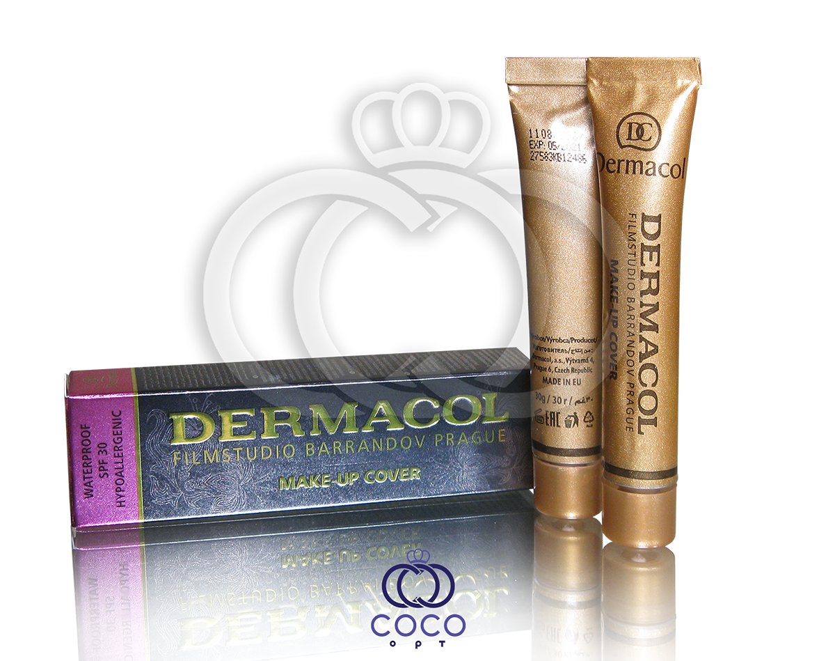 Тональний крем Dermacol Make-Up Cover SPF 30