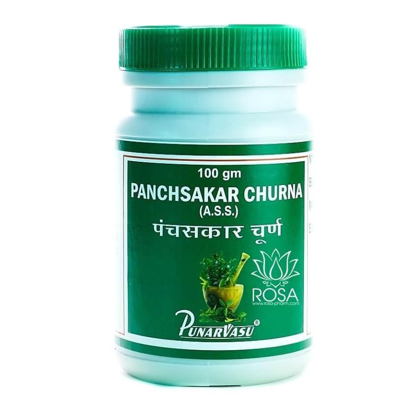 Панчсакар Чурна (Panchsakar Churna, Punarvasu) улучшение аппетита, 100 грамм