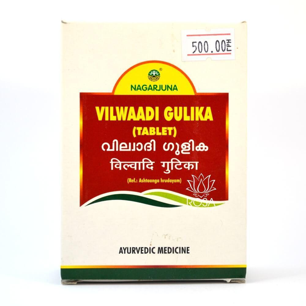Вильвади Гулика (Vilwaadi Gulika, Nagarjuna) ветрогонное средство, выводит токсины и яды, 100 таб.