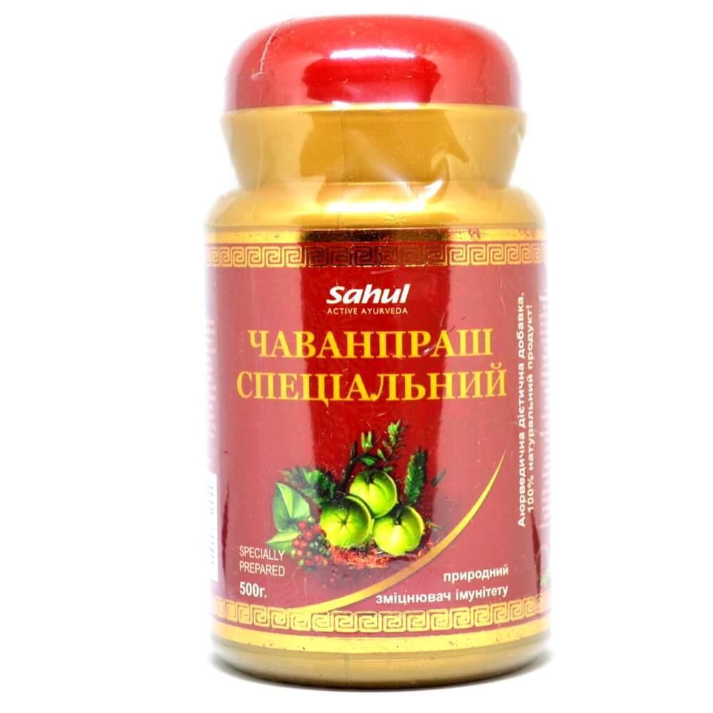 Чаванпраш Специальный (Chyawanprash, Sahul), 500 грамм
