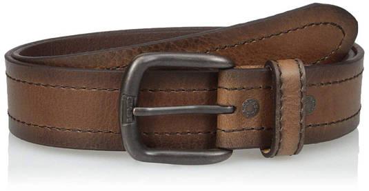 Ремень Levi's Men's Casual Belt Brown Stitch
