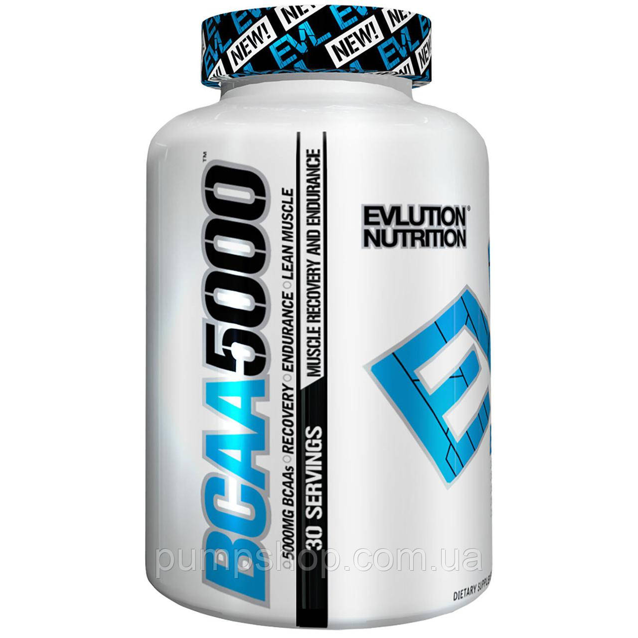 Бцаа BCAA Evlution Nutrition BCAA 5000 240 капс.