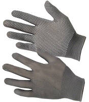 Перчатки рабочие с ПВХ 13 класс, 3 нитки - № 86