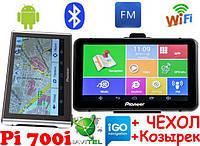 Pioneer Pi700i + AV Андроид GPS Навигатор с Wifi Ips Мультитач экран 7 дюймов M515