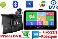 GPS Pioneer Pi700i DVR (M515) + AV 512mb-8gb Андроид GPS Навигатор Android Навигатор Видео регистратором 2в1