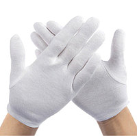Перчатки официанта - белые хб