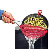 Сито- дуршлаг Better Strainer для слива воды для слива воды,Сито на кастрюлю для слива воды!Акция