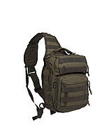 Сумка-рюкзак однолямочная Mii-Tec One Strap Assault Pack SM, олива, 9л, фото 1