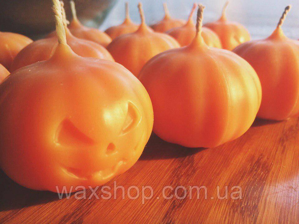 Свеча тыква хеллоуин helloween 5/6 cm
