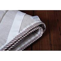 Наматрасник в кроватку детскую 70х140 льняной (ткань лён)