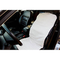 Накидка на автомобильное сидение (со съёмным чехлом) размер 45х115 см.Лен