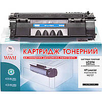 Аналог HP 53A, Q7553A Картридж WWM (LC27N)