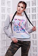 Свитшот женский Trippy style KF-1581C