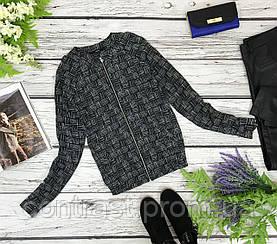Базовая блуза с легким принтом  BL1837097