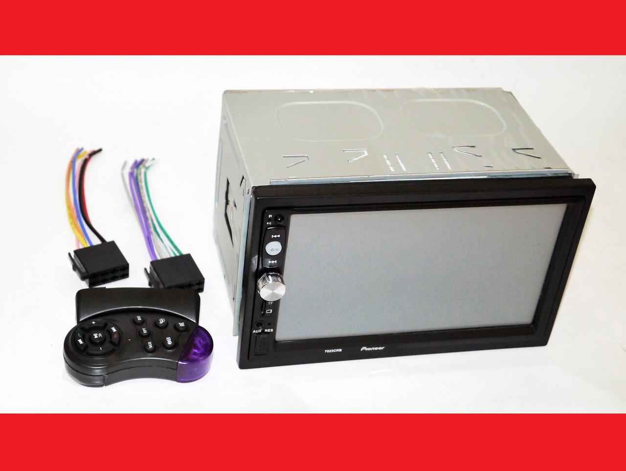 2din Pioneer 7023 Автомагнитола USB+SD+Bluetooth