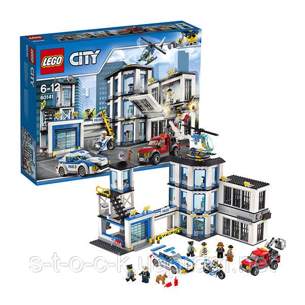 Конструктор Lego 60141  Город Полицейский участок